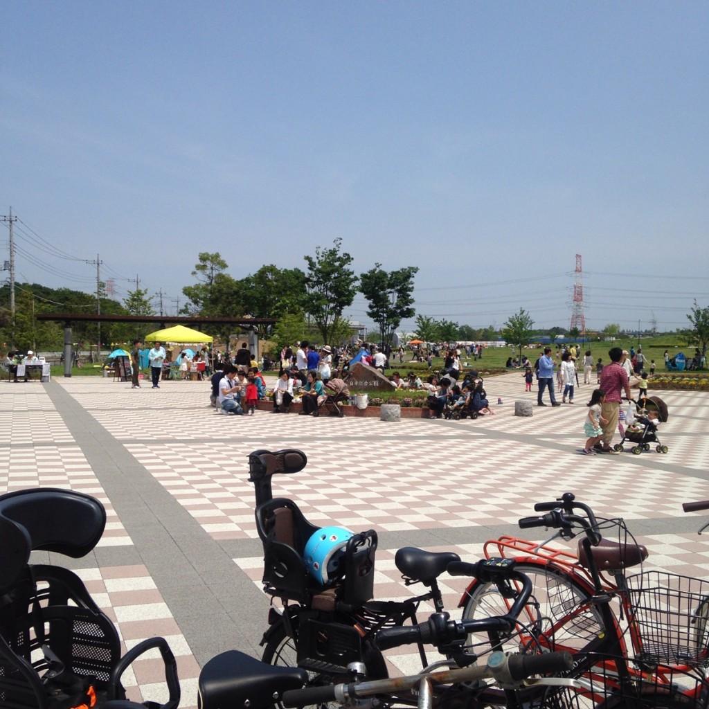 白井総合公園で行われた『ときめきマルシェ』に参加してきました