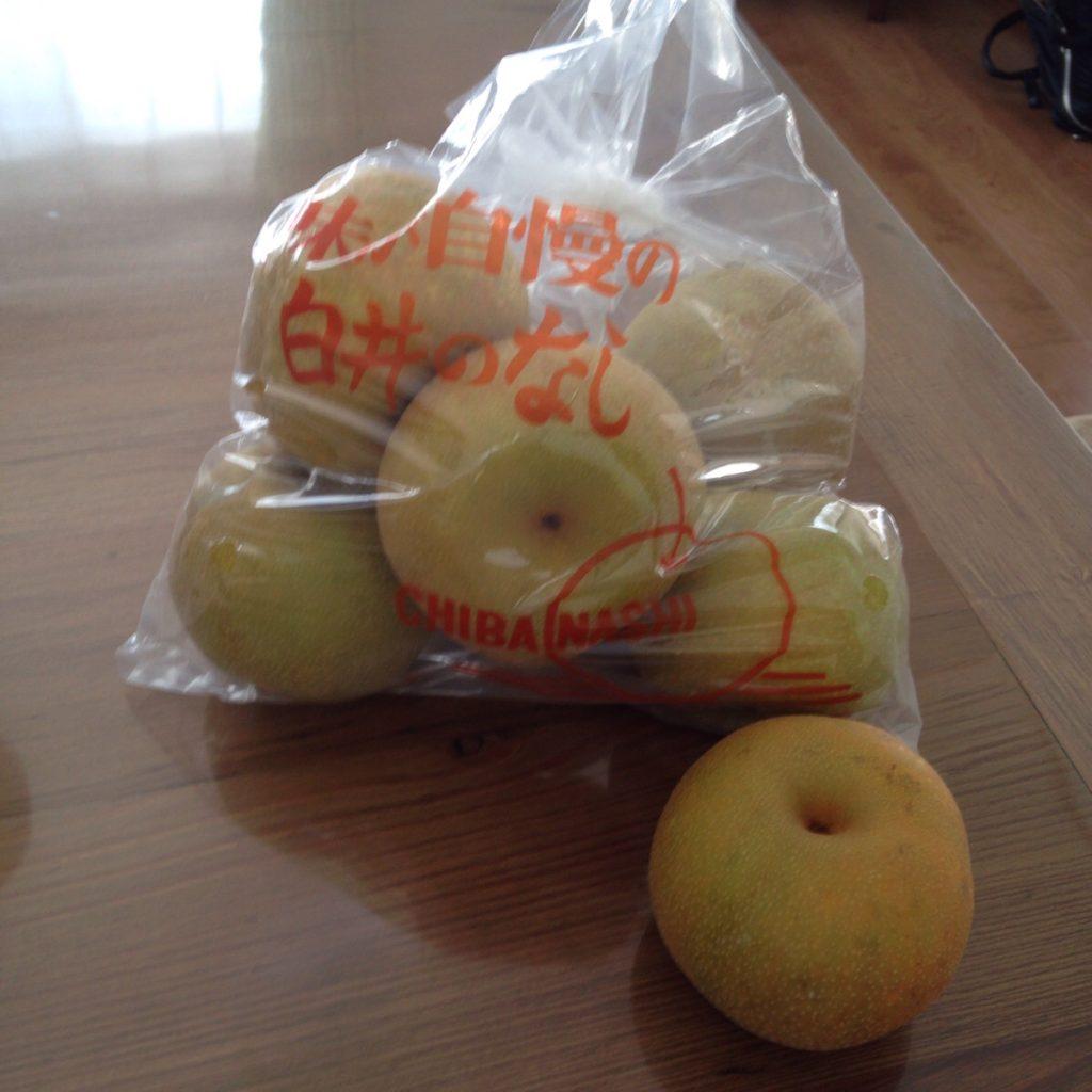 【西白井】国道464号線近くの梨直売所『中村園』さんの幸水がとっても美味しかった