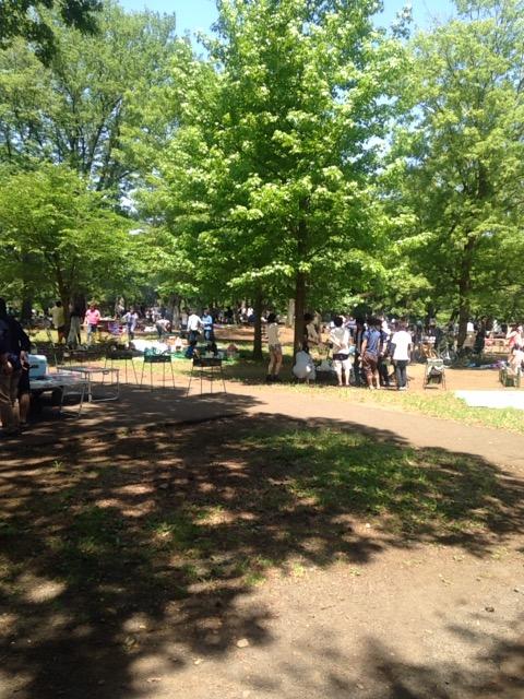 無料でバーベキューができる武蔵野公園