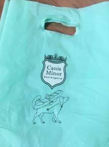 お店のロゴや、 袋もかわいい♡