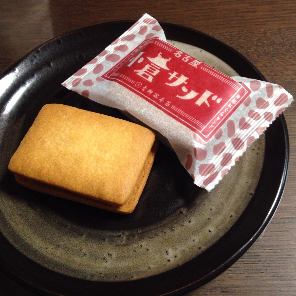 「青柳総本家 小倉サンド」の画像検索結果